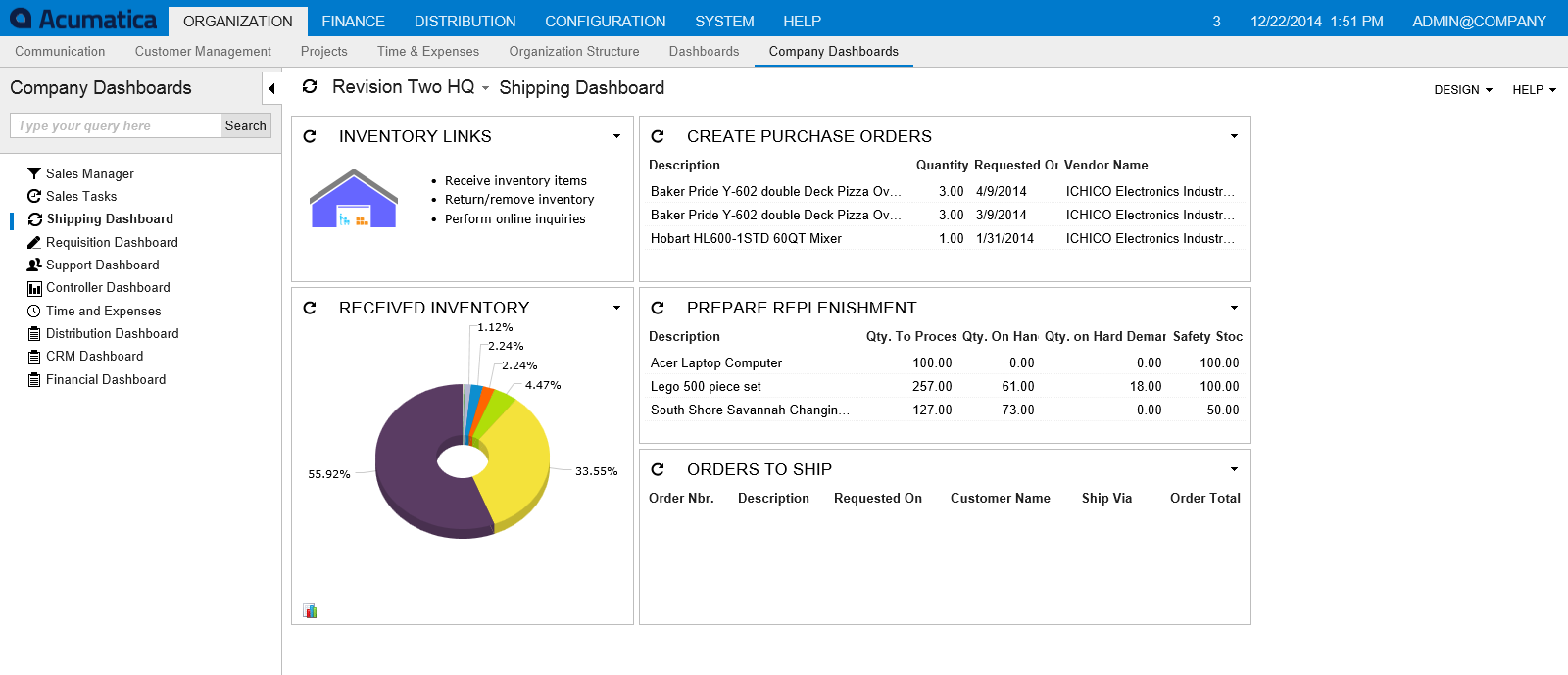 Acumatica Inventory Management presented by RAD Apps USA